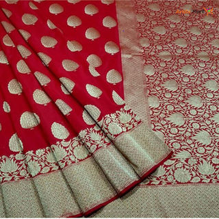 Indian Katan Silk Saree