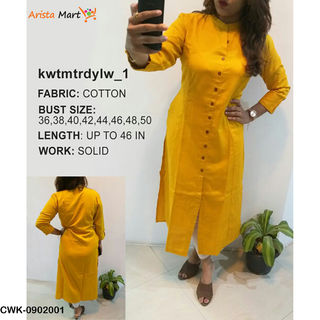 Coloured Kurtis For Ladies