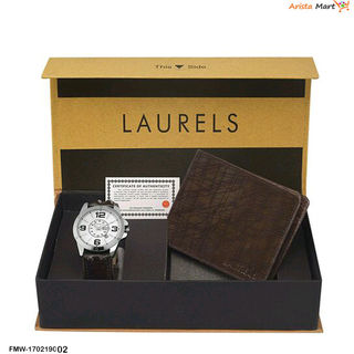 Branded Wallet With watch