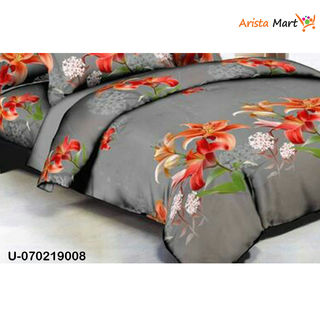 Colorful Printed Polycotton Double Bedsheets